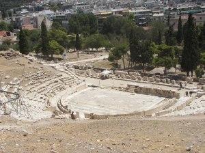 Dionysoksen teatteri Ateenassa