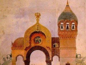 Viktor Hartmann: Suunnitelma Kiovan kaupunginportiksi